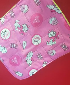 Pink Marble Maze Napkin Sqiuare